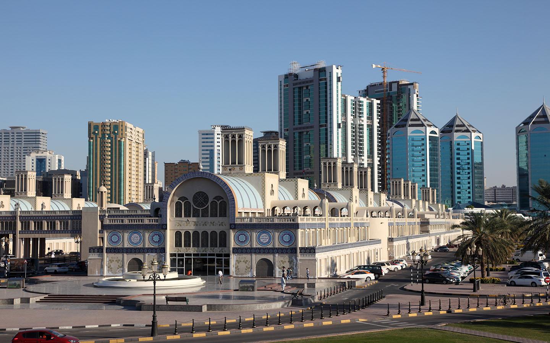 السوق المركزي الاماكن السياحية في الشارقة