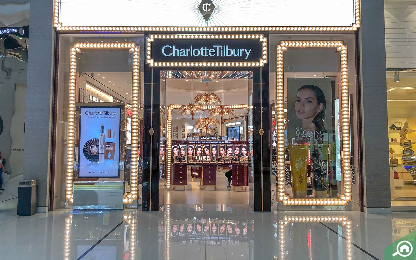 Charlotte Tilbury outlet in Dubai Mall
