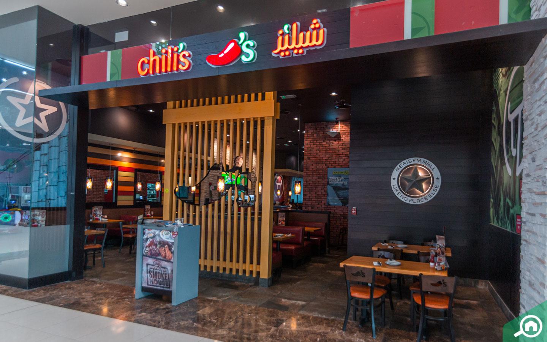 Chilis a popular restaurant