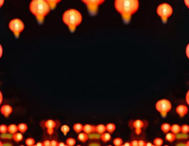 Chinese lanterns for Chinese New Year celebration