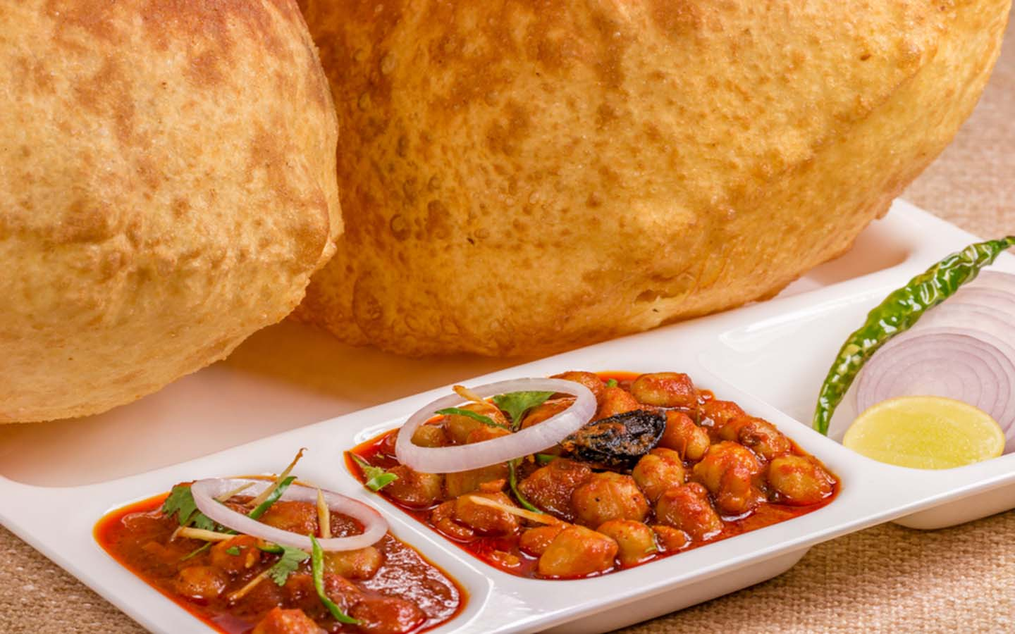 Choley Bhatura in Sharjah