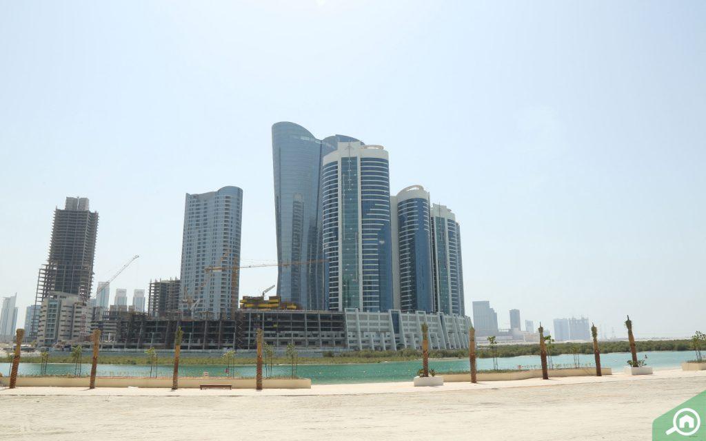 City of Lights apartments in Al Reem Island