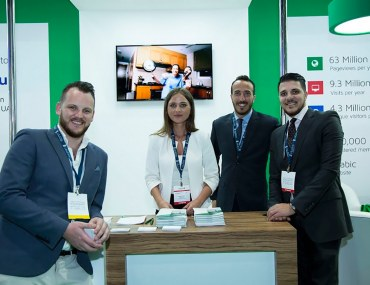 Bayut's Welcoming Staffers at Cityscape Abu Dhabi 2017