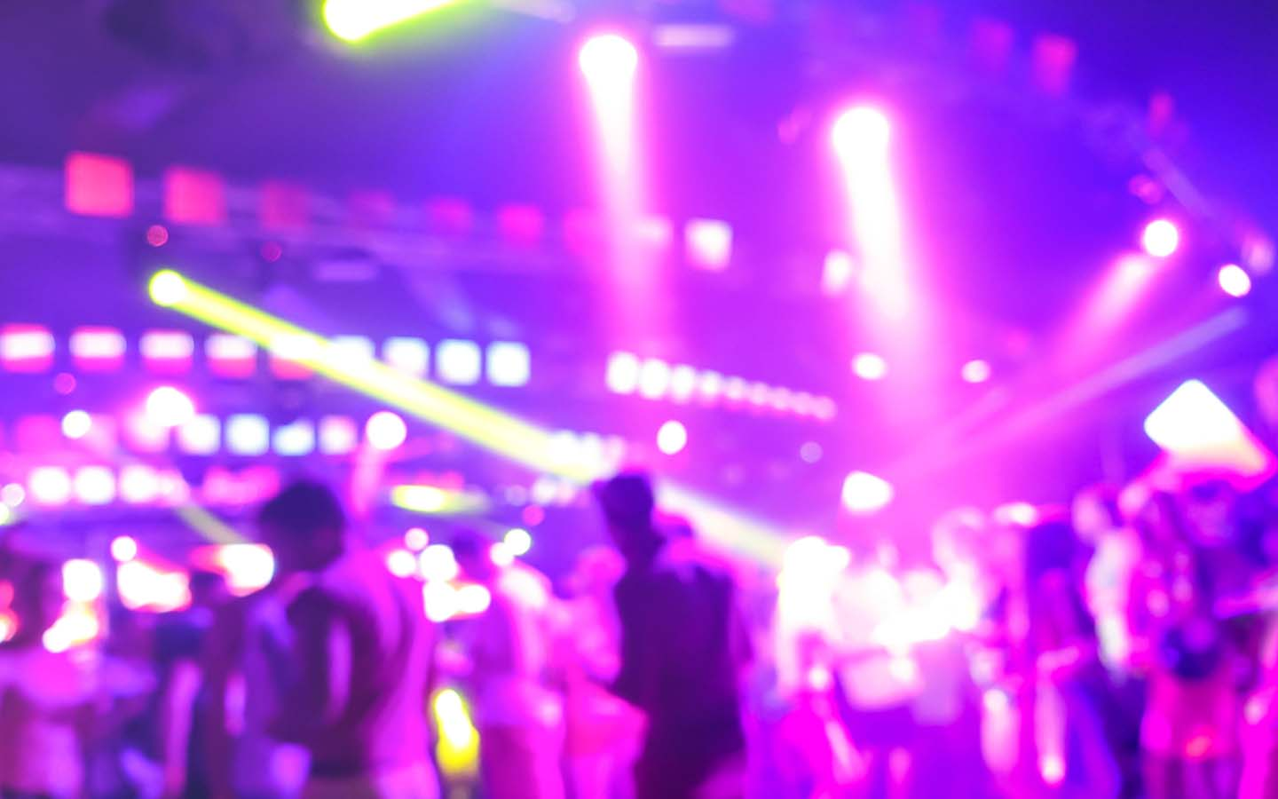 Inside view of a club