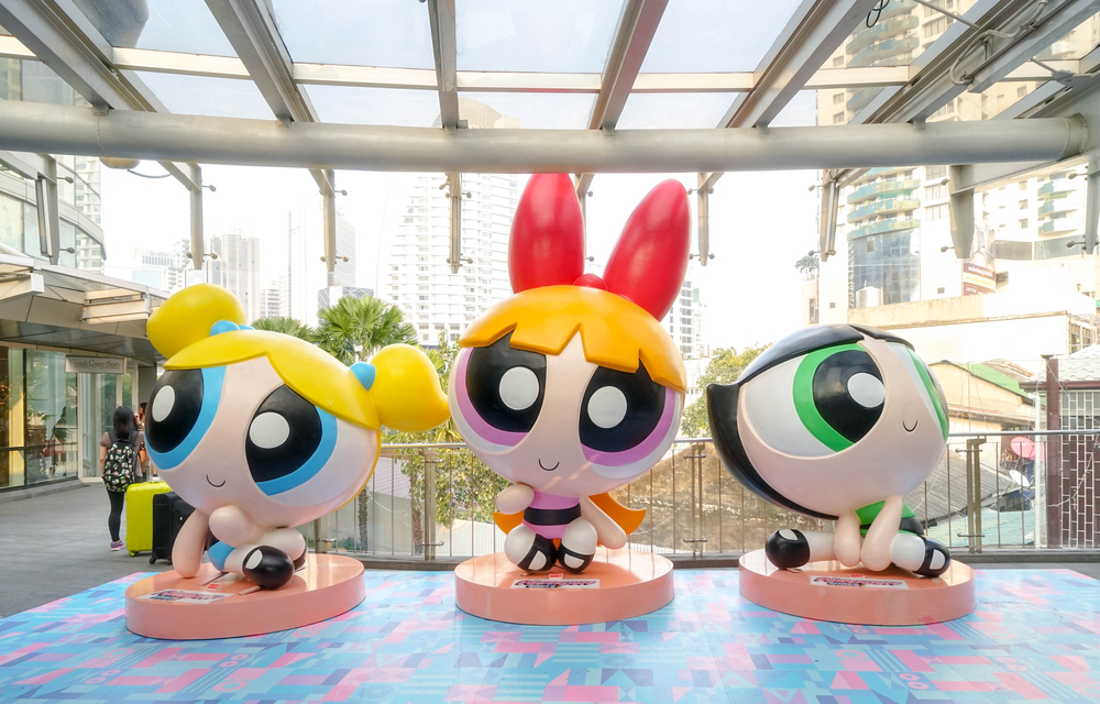 IMG Worlds of Adventure let you see your favourite Powerpuff Girls turning from reel to real.