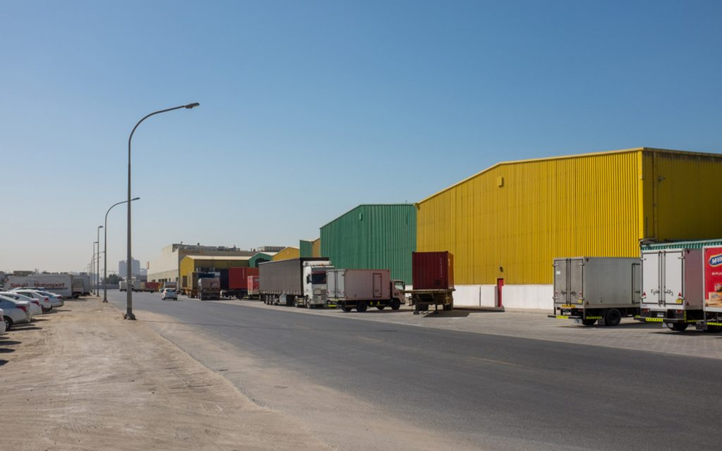 Warehouses in Al Quoz Dubai belonging to top companies in Al Quoz