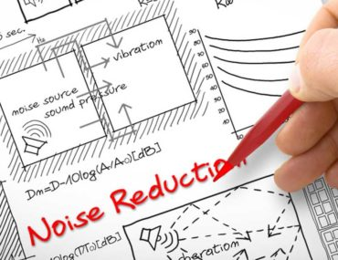 A document plan with noise reduction written
