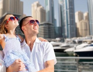 عائلة في دبي