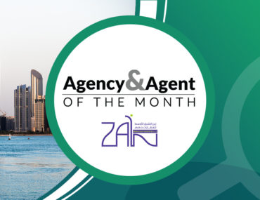 Logo of Zain Middle East Properties, best agency in Abu Dhabi for August 2020
