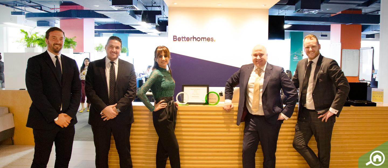 دبي: بيتر هومز تفوز بجائزة بيوت للوكالة المثالية في أبريل 2019