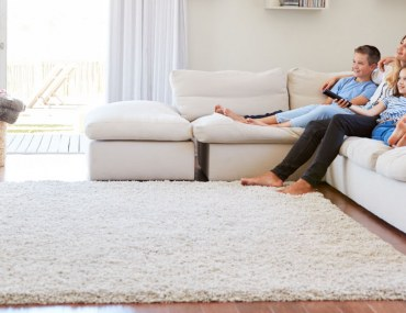 Modern family room ideas include sectional sofas