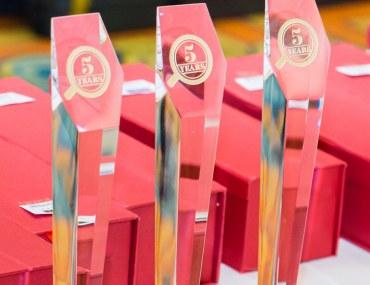 تكريم الفائزين بجائزة دائرة بيوت الذهبية خلال مأدبة الإفطار الرمضاني في دبي