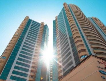 المباني السكنية الأكثر طلباً للاستئجار في عجمان وسط المدينة