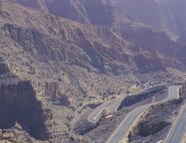 سلاسل جبلية في الامارات