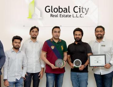 Global City Ajman wins Bayut agent of the Month award