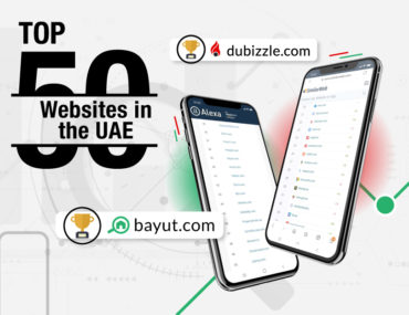 Cover image showing Bayut & dubizzle ranking among top websites in the UAE