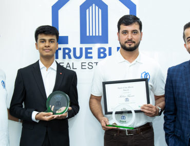 Members of True Blue Real Estate with Bayut Team
