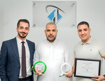 Lemas Real Estate Agency getting award