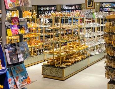 Souvenir shops in Dubai