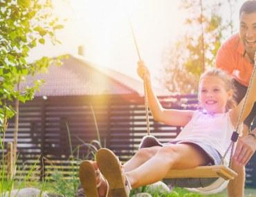 نصائح لتصميم حديقة العاب خارجية للأطفال في المنزل