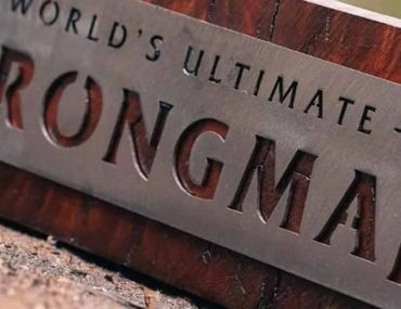 World's Ultimate Strongman name plate