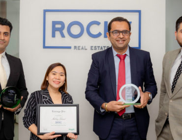 Team of Rocky Real Estate Dubai with Bayut