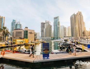 نمط المعيشة أو السكن في دبي مارينا