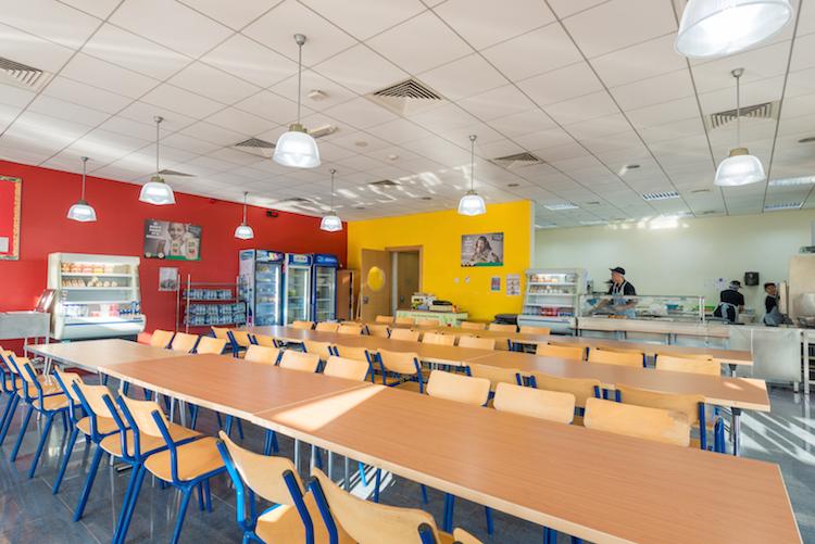 Cafeteria in Dubai British School
