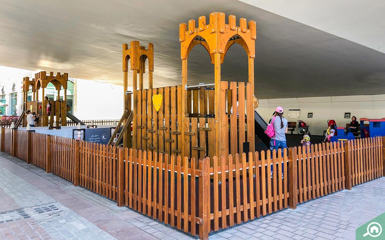 Play area on Dubai Marina Walk