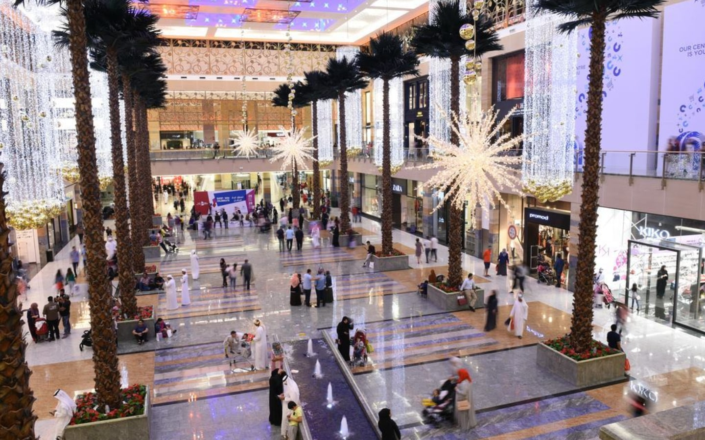 View of Mirdif City Centre shopping centre, which have upcoming sales in Dubai