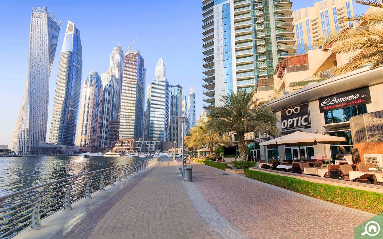 Dubai Marina running route