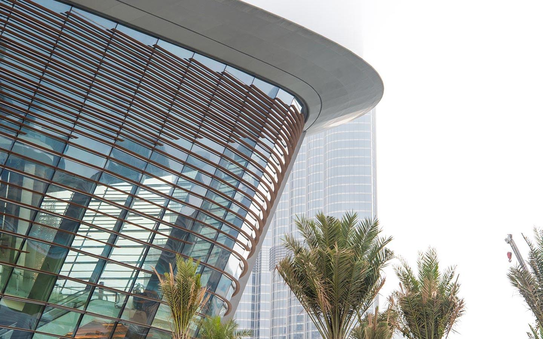 تم افتتاح دبي أوبرا في 31 أغسطس 2016