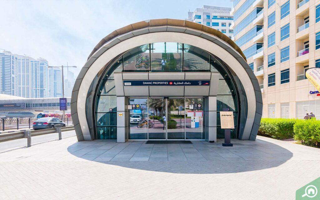 Estación de bienes raíces de Damac