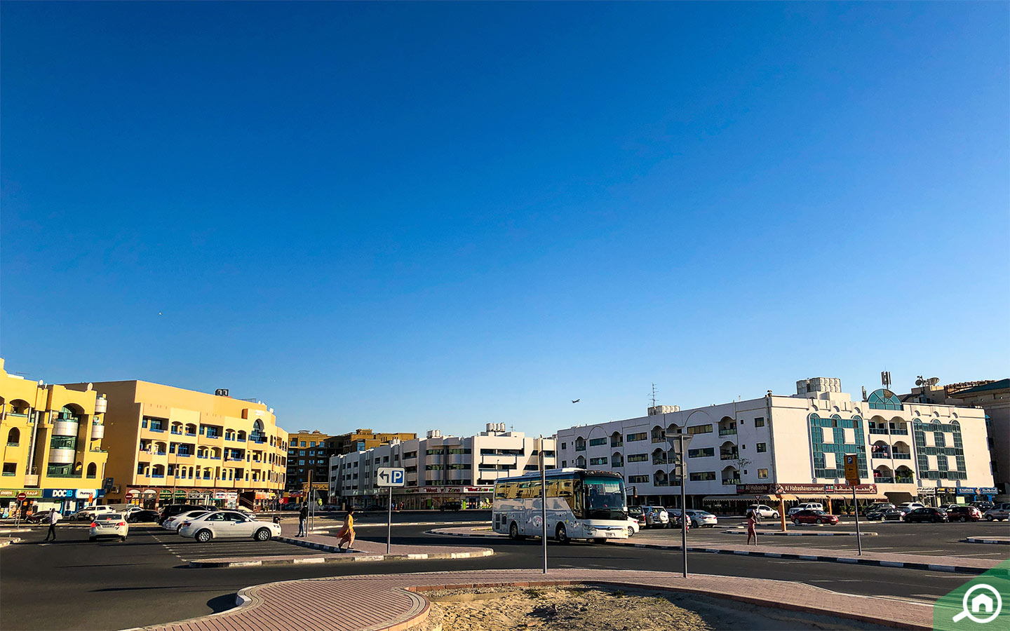 Exterior view of Apartment buildings in Abu Hail