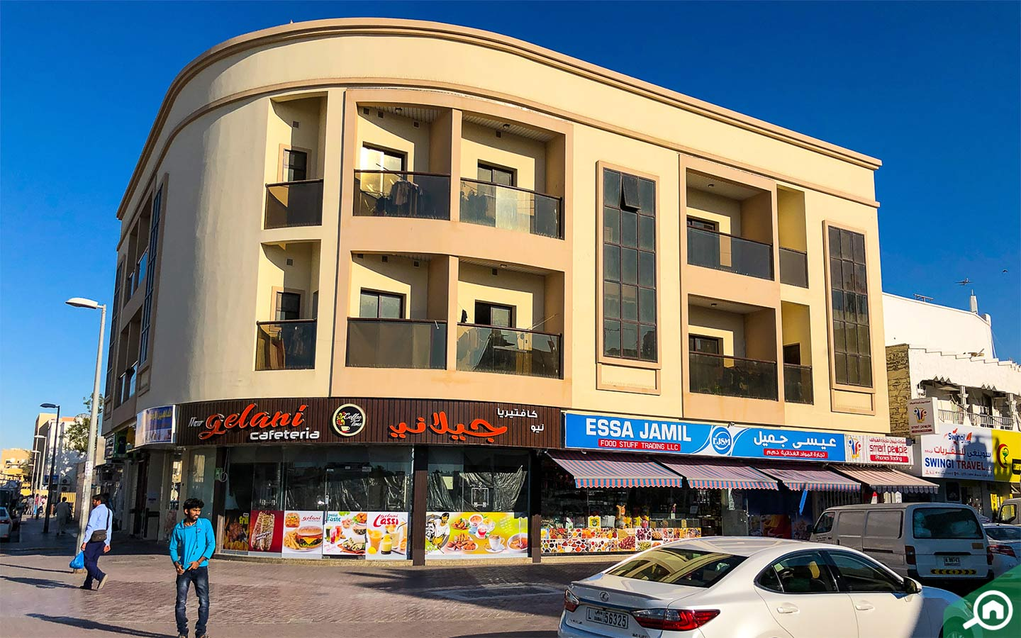 Outside view of flats and surrounding areas in Hor Al Anz, Deira