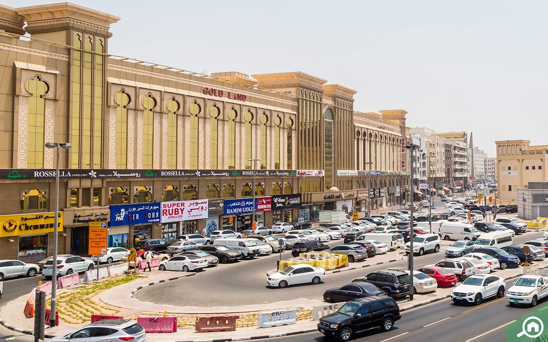 Exterior of Deira Gold Souk in Dubai