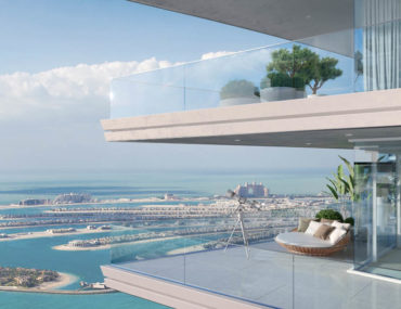Apartment with view of Palm Jumeirah at Emaar Beachfront