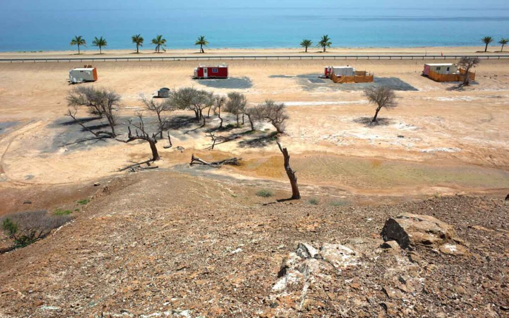Dibba Beach picnic area
