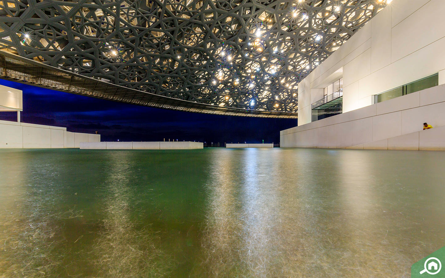 Domed Roof At Louvre Abu Dhabi