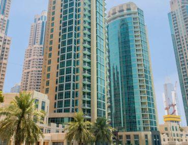 افضل مباني سكنية لاستئجار شقق غرفتين وصالة في وسط مدينة دبي