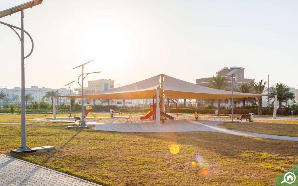 Play area near Jumeirah Village Circle villas for sale