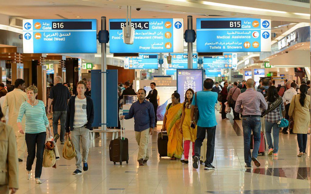 facilties at Dubai airport