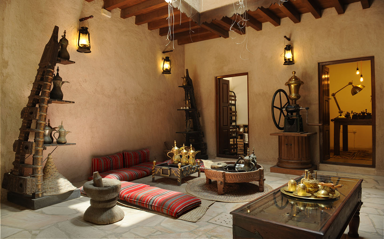 Interior of Cafe at Dubai Coffee Museum