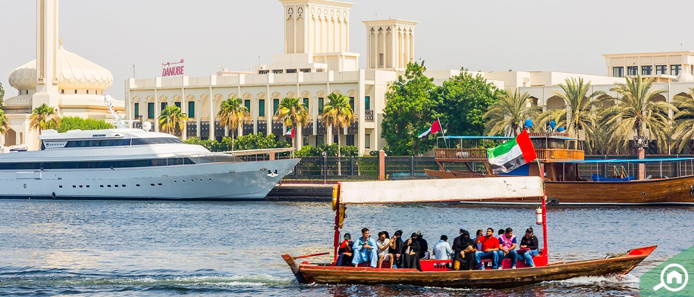 Dubai Creek water transport