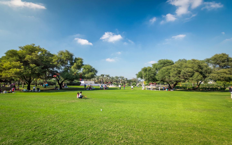 Green Lawns at Dubai Creek Park - Public Parks in Dubai