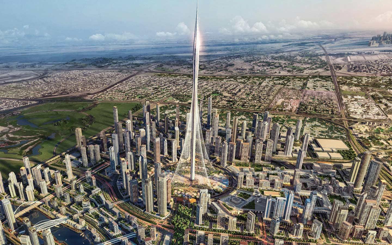 Dubai Creek Tower Render