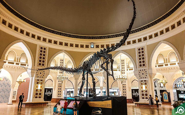Dino in Dubai Mall