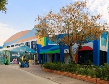 Dubai Dolphinarium entrance