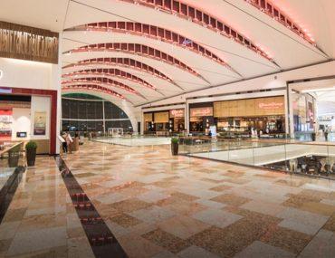 View of Dubai Festival City Mall Shops