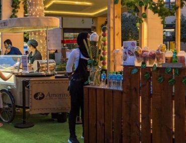 كشك في مهرجان دبي للمأكولات